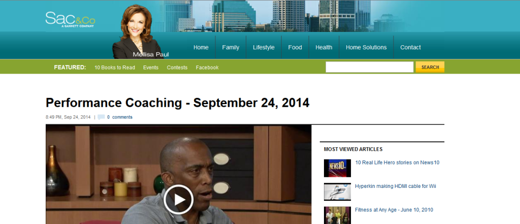 Performance Coaching - September 24, 2014  sacandco